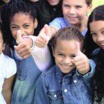 photo of kids, multiple race/ethnicity